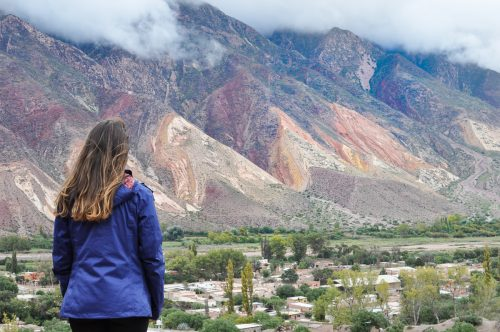 montanhas coloridas no norte da argentina