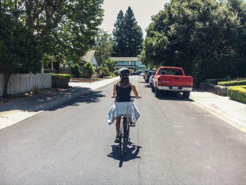 passeio de bicicleta em napa