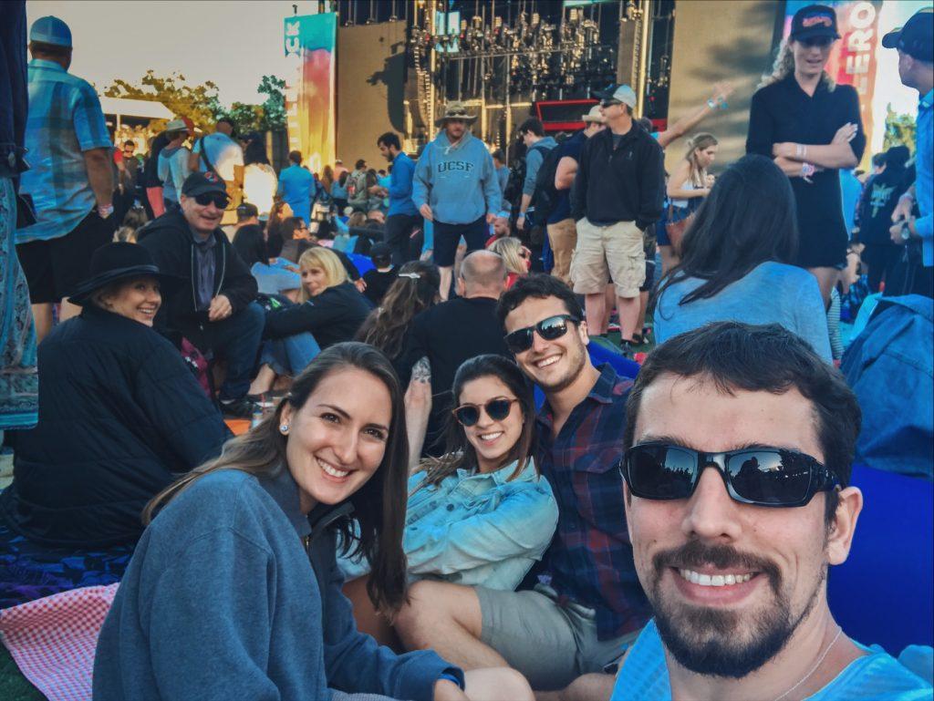 festival Bottlerock em napa, na California