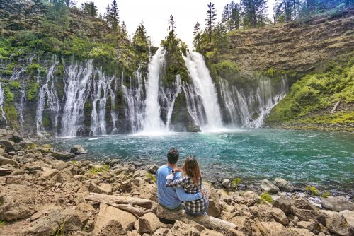 Burney Falls na California