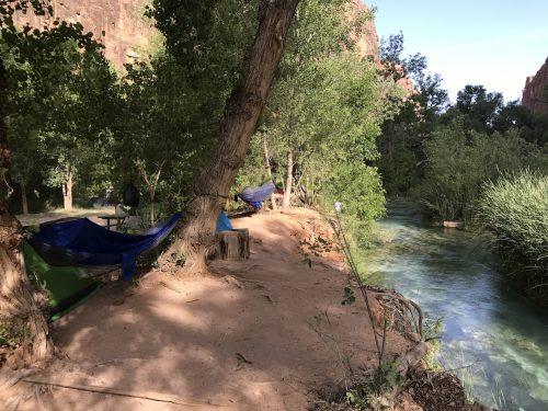 Supai Camping