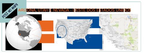 mapa dos Estados Unidos
