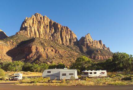 camping em zion