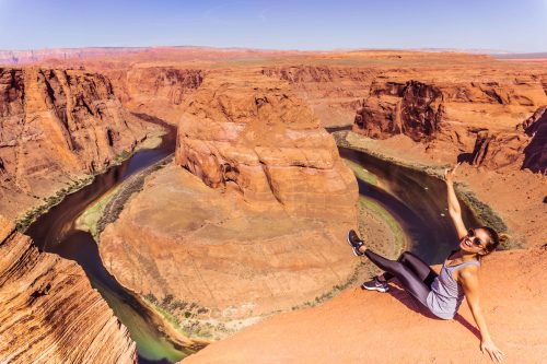 Horseshoe bend nos EUA