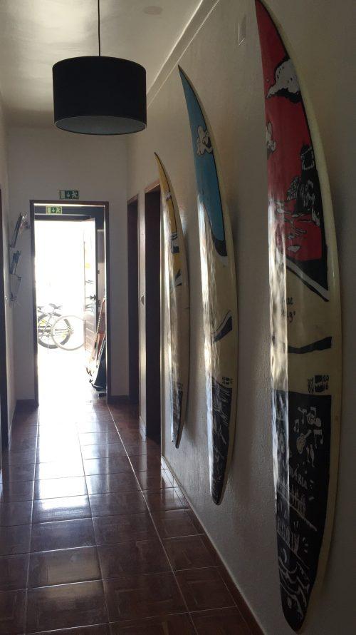 pranchas para as aulas do surfcamp