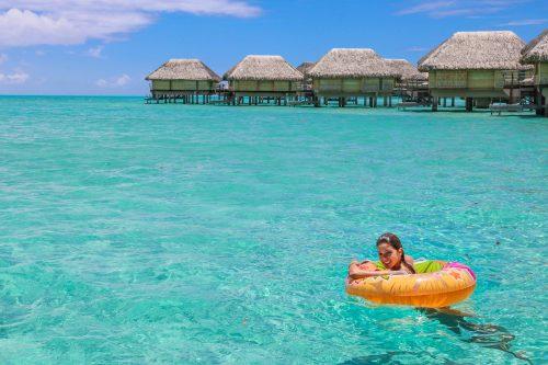 bangalôs overwater na Polinesia Francesa