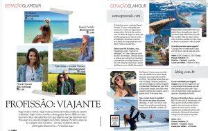 VamosPraOnde na Revista Glamour