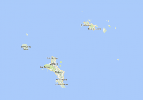 mapa seychelles