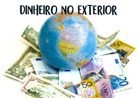 imagem para ilustrar dinheiro no exterior