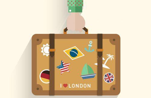 imagem de uma mala