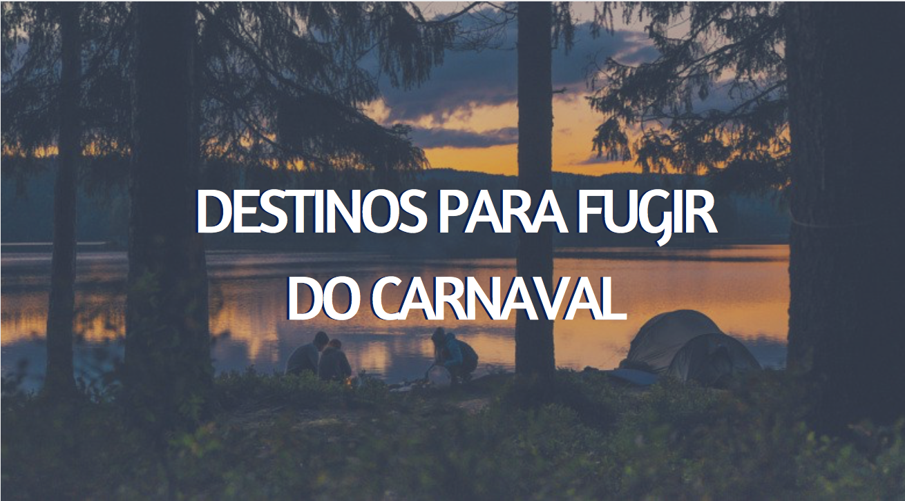 fugir do carnaval