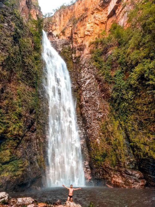 chapada dos veadeiros - cachoeira