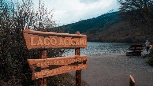 lago acigami ushuaia