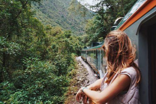 trem inca rail para Machu Picchu