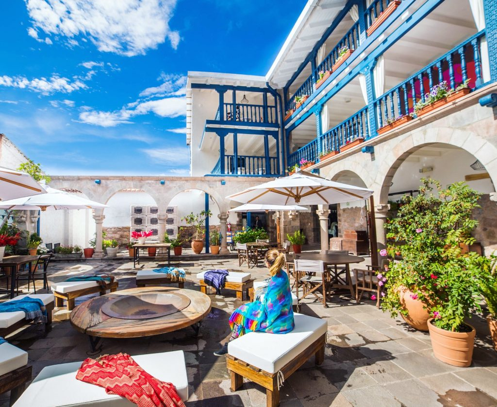 hotel El Mercado em Cusco, próximo à Machu Picchu