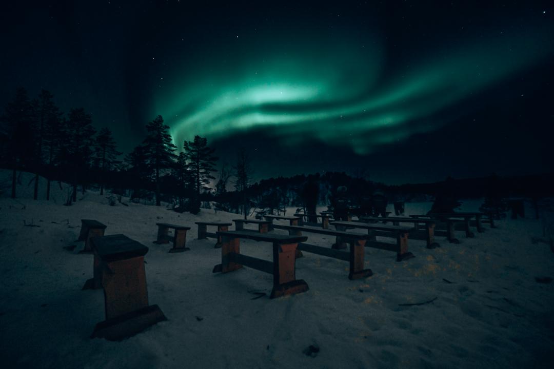 como fotografar a aurora boreal