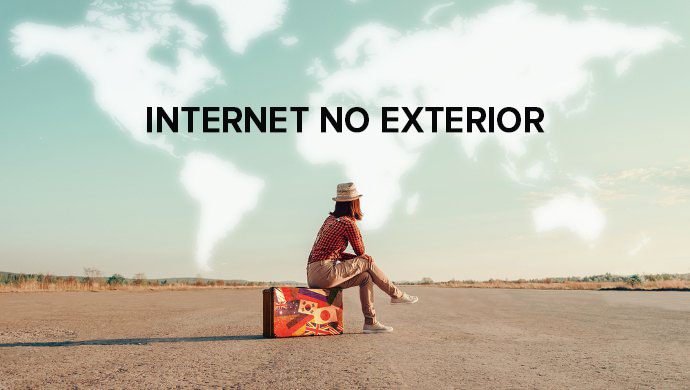 Internet ilimitada no exterior
