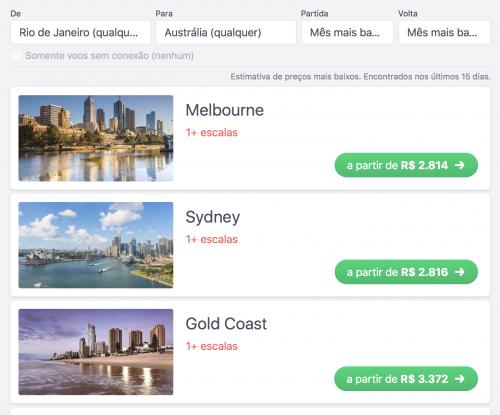 skyscanner pesquisa por país