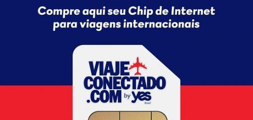 chip de celular da yes Brasil