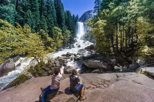 cachoeira em Yosemite - 5 roteiros de carro pela Califórnia