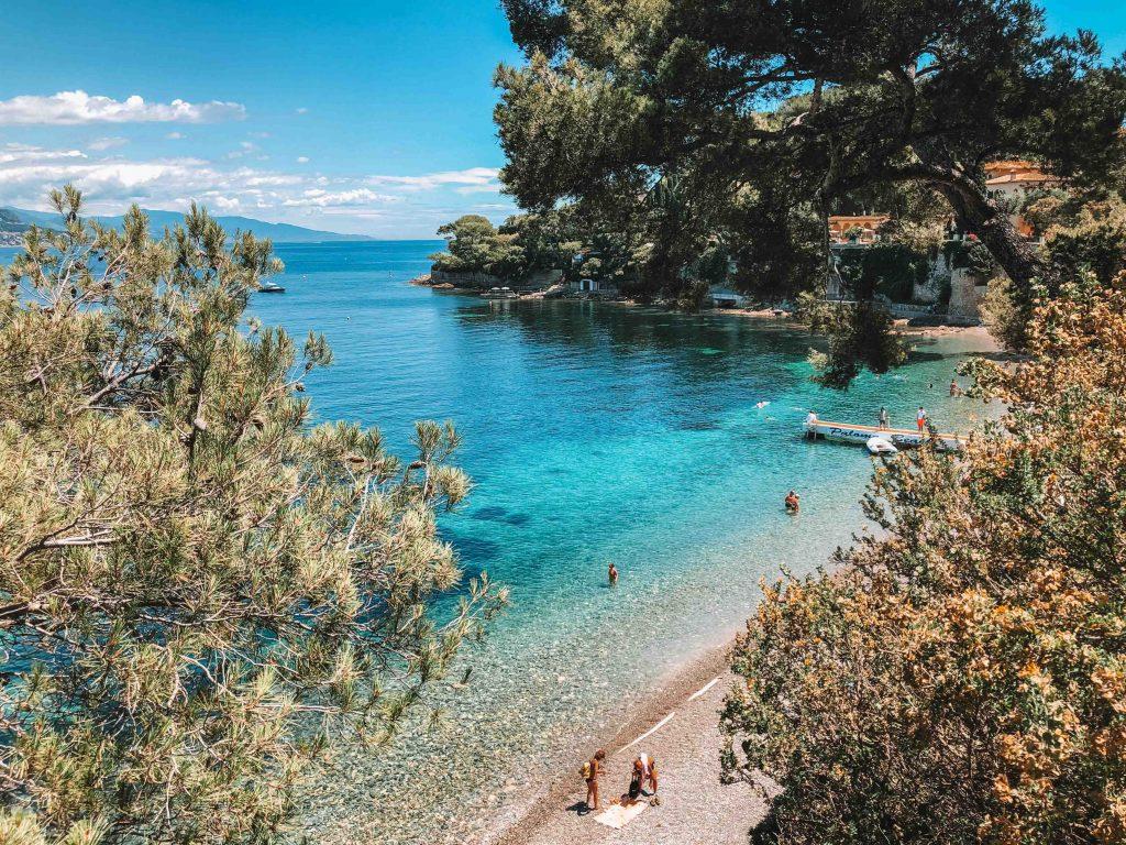praia em Cap ferrat
