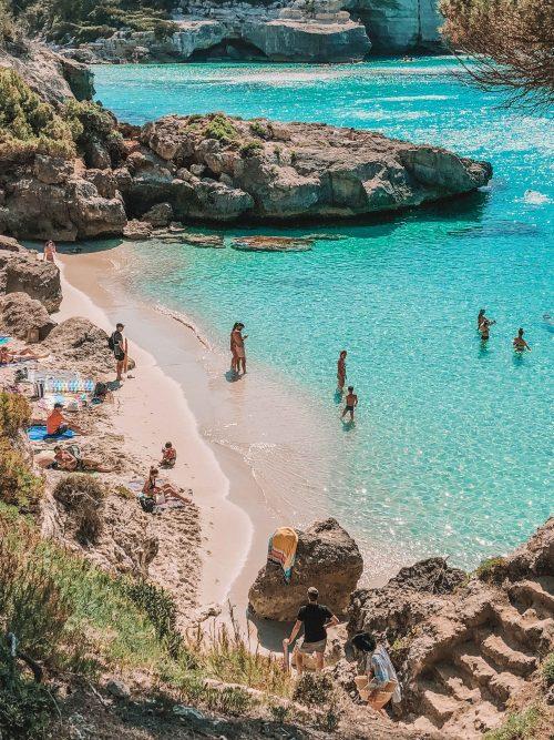 Onde ficar em Menorca - praias