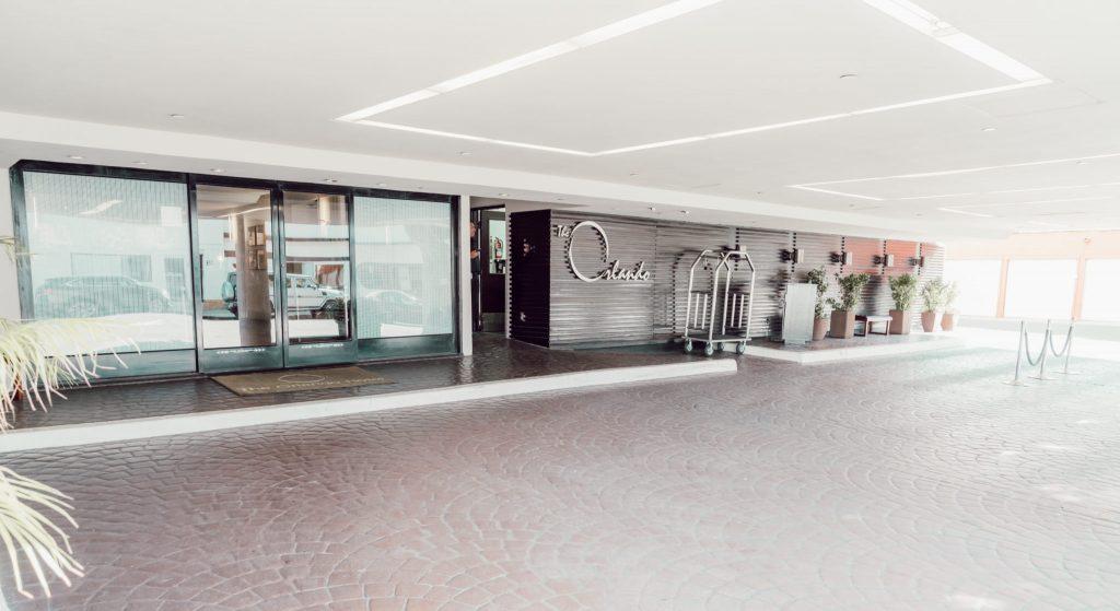 entrada do hotel the Orlando