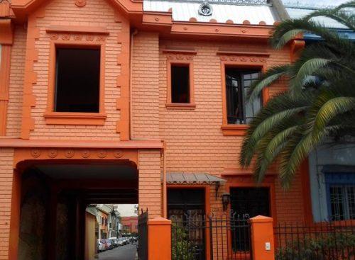 Onde Ficar Em Santiago Entrada do hotel Amstelhuis