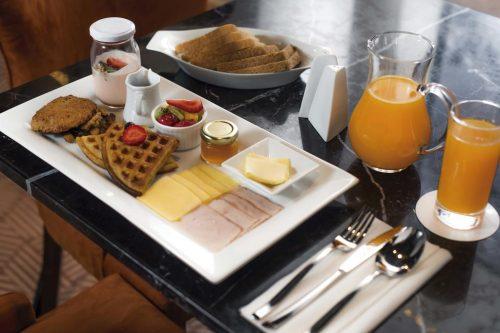 OndeFicarEmSantiago - Café da manhã do Hotel Luciano K
