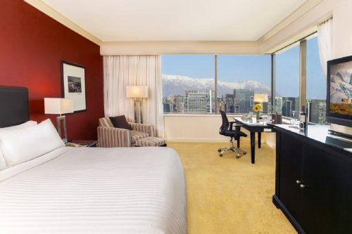 OndeFicarEmSantiago - Quarto para casal no Hotel Santiago Marriot