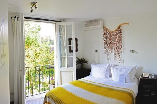 Onde Ficar Em Santiago - Meridiano Sur Petit Hotel quarto de casal