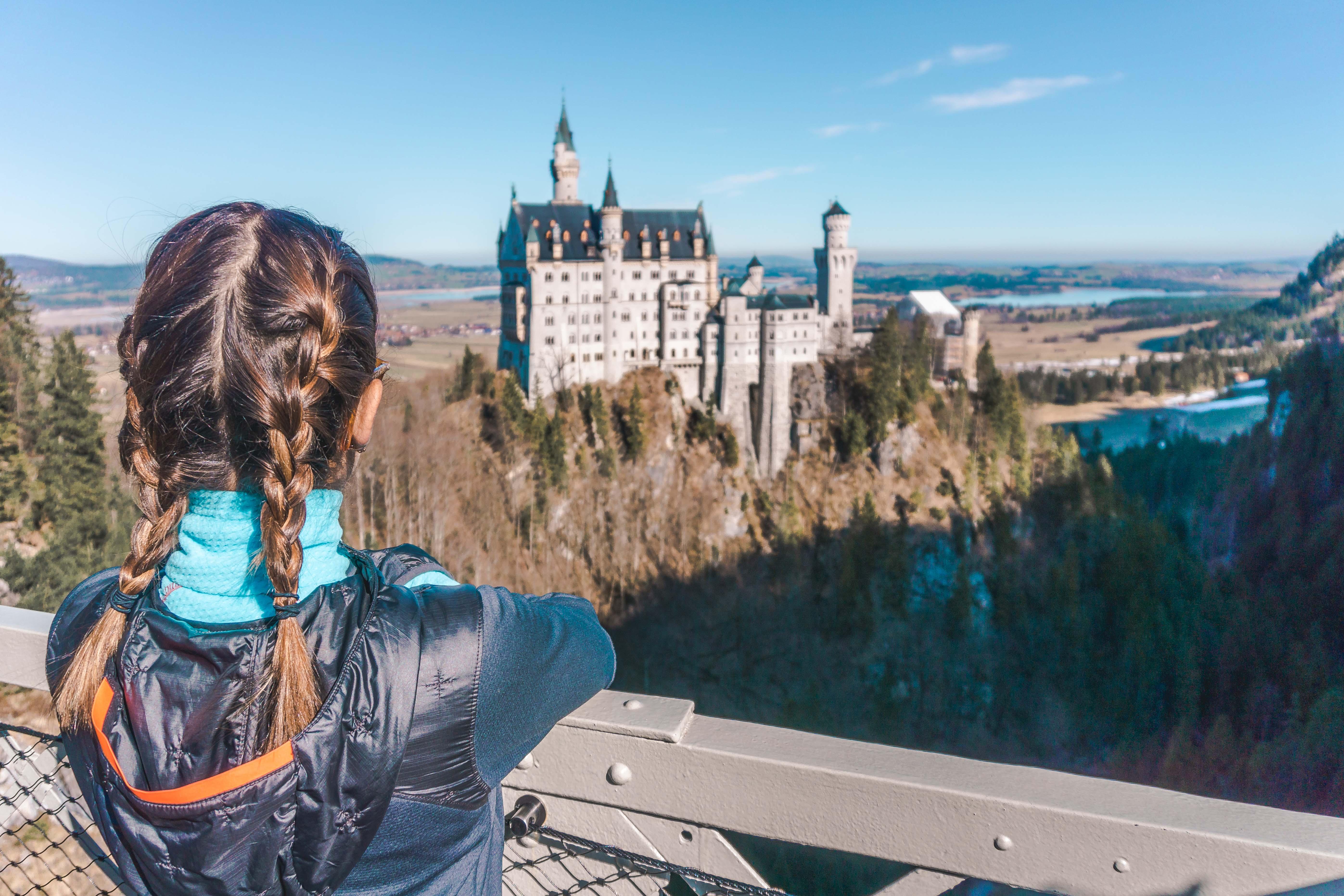 castelo neuchwanstein na rota romantica