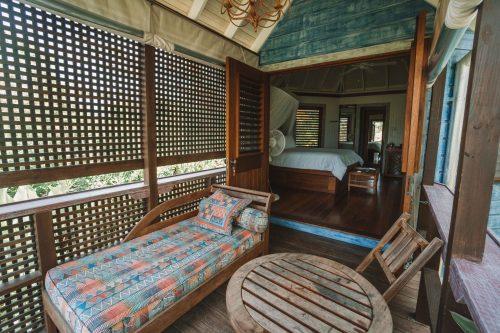 cabana no hotel golden eye, Jamaica