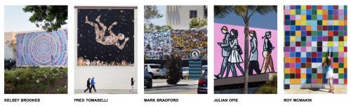 Opção do que fazer em la jolla: murais de arte
