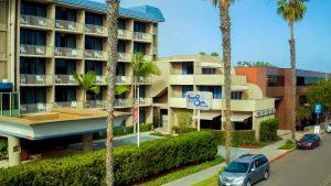 Onde ficar em La Jolla: Hotel In By The Sea (foto da entrada)