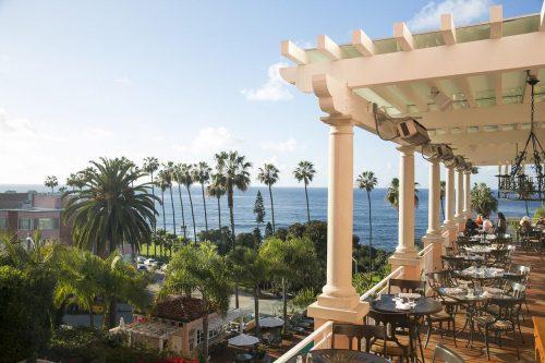 Onde ficar em La Jolla: La Valencia (foto do restaurante)