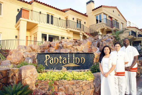 Onde ficar em La Jolla: Pantai Inn (foto da entrada)