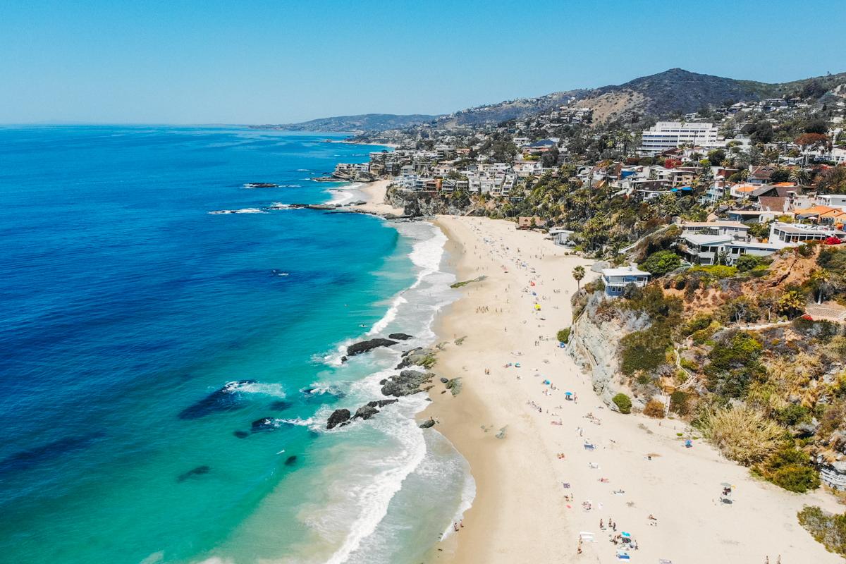 mar da costa sul da california