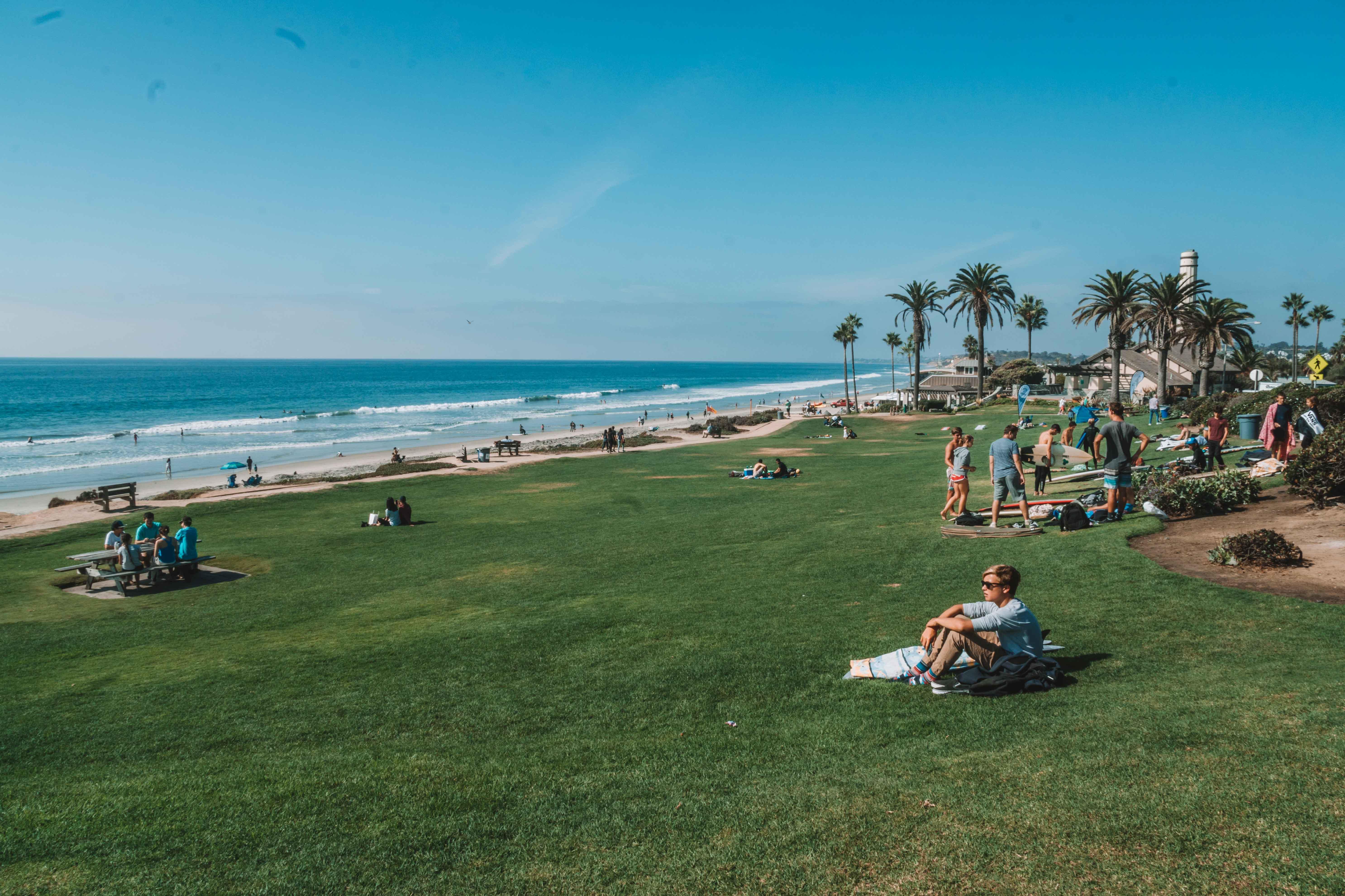 Del Mar, na costa sul da Califórnia