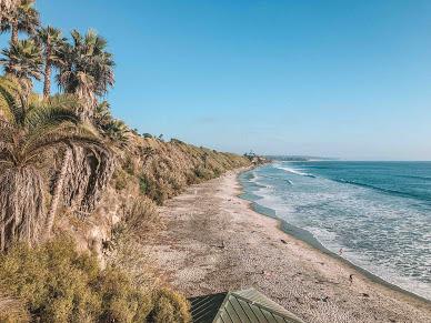 praia em Encinitas