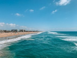 praia de Huntington Beach