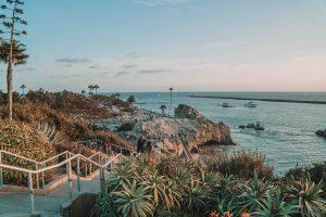 corona Del Mar em Newport Beach, no sul da Califórnia