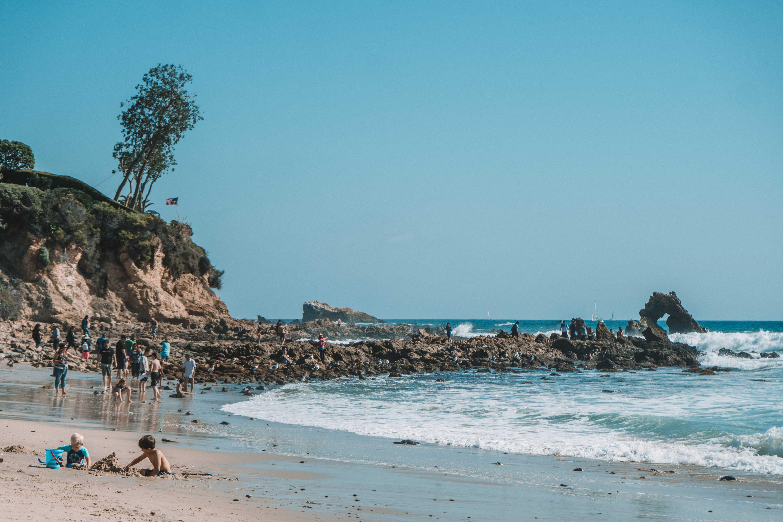 corona Del Mar na costa sul da california