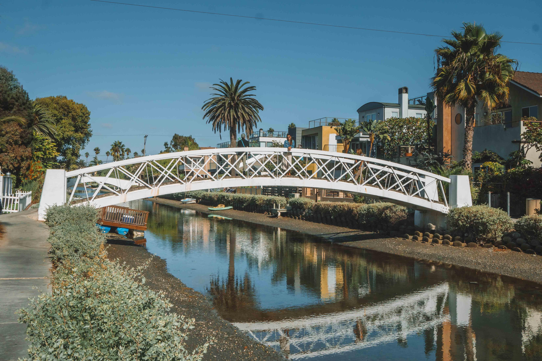 canais de Venice, no sul da Califórnia