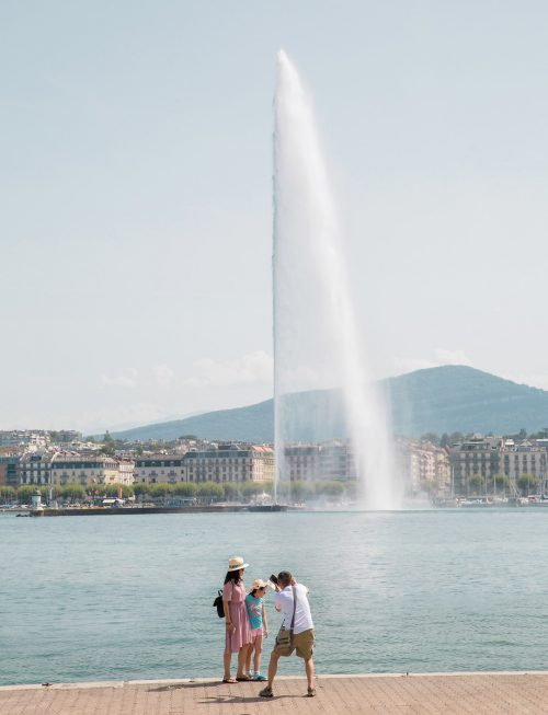 Jet d'Eau em Genebra