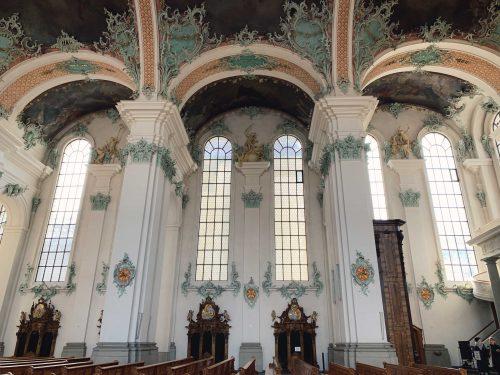 paredes da catedral de st gallen