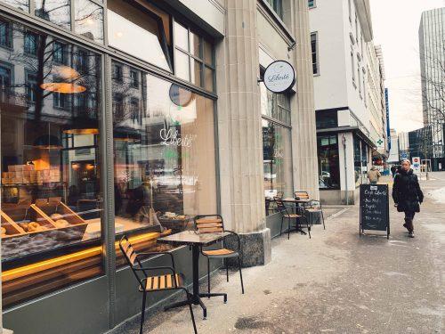 Liberte Café em St Gallen