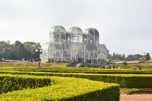Onde Ir em Curitiba - A famosa estufa do Jardim Botânico de Curitiba