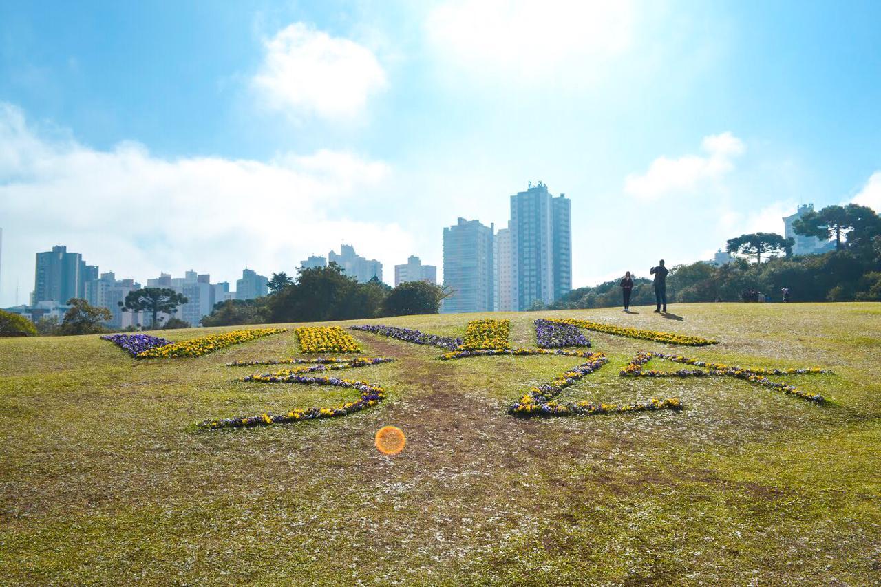 Onde ficar em Curitiba - foto tirada no Jardim Botânico de Curitiba