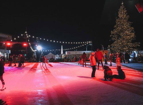 pista de patinação em Lucerna